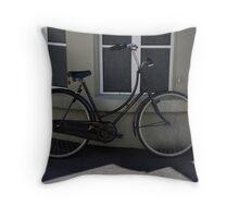Commuter Bike Italy -2 Throw Pillow