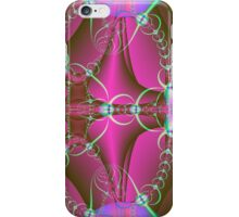Green Rings on Pink iPhone Case/Skin