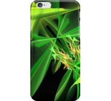 Green Flying Insect Abstract iPhone Case/Skin