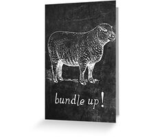 Bundle Up Greeting Card