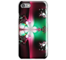 Green and Pink Collide iPhone Case/Skin