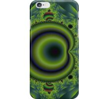 Green and Blue Puncture iPhone Case/Skin