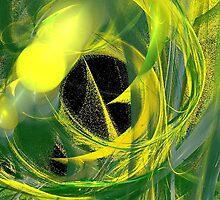 Glowworm Abstract by pjwuebker