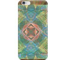 Geometric Wild Red Rose iPhone Case/Skin
