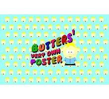 Butters very own poster - South park Photographic Print