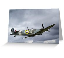 The Lytham Spitfire Greeting Card
