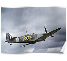 The Lytham Spitfire Poster