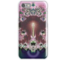 Framed in Pink Abstract iPhone Case/Skin