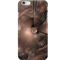 Fractal in Brown iPhone Case/Skin