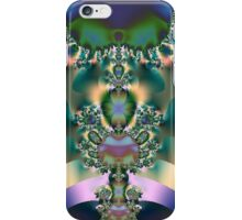 Four Leaf Clover Abstract Necklace iPhone Case/Skin