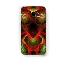 Fiery Fractal Samsung Galaxy Case/Skin