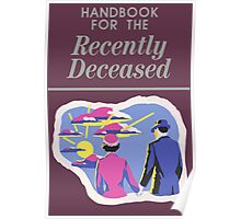 Handbook For The Recently Deceased Poster