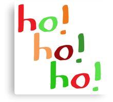 Ho! Ho! Ho! Canvas Print