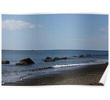Peaceful Ocean Retreat Poster