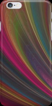 Dark Rainbow Swirls by pjwuebker