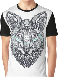 psychedelic wolf  Graphic T-Shirt