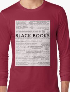 Black Books - Quotes Long Sleeve T-Shirt
