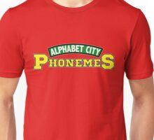 Alphabet City Phonemes Unisex T-Shirt