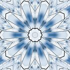 Blue Lines 12 Kaleidoscope by fantasytripp