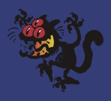Cartoon Scaredy Cat T-Shirts by Cheerful Madness!! by cheerfulmadness