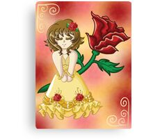 Fairy Tale Series: Beauty Print Canvas Print