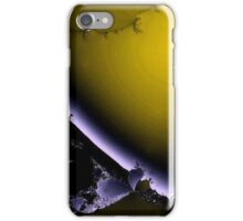 Broken Purple and Yellow iPhone Case/Skin