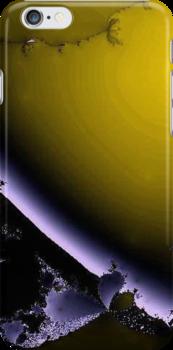 Broken Purple and Yellow by pjwuebker