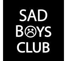 Sad Boys Club {FULL} Photographic Print