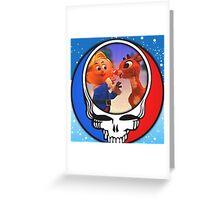 Rudolph Stealie Greeting Card