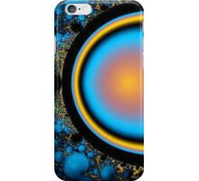 Barrier in Colorful Space iPhone Case/Skin