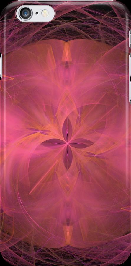 Atomic Pink Swirls by pjwuebker