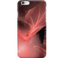 Amazing Red Swirls iPhone Case/Skin