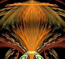 Alien Orange Insect by pjwuebker