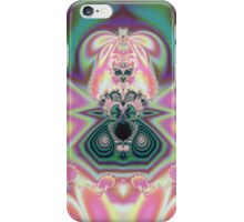 Abstract Pink Princess iPhone Case/Skin