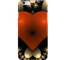 3D Red Heart iPhone Case/Skin