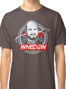 Vote Whedon  Classic T-Shirt