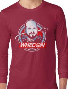 Vote Whedon  Long Sleeve T-Shirt