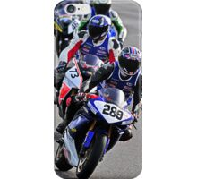 motorbike racing steam line iPhone Case/Skin