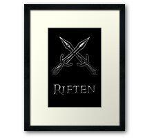 Riften Framed Print