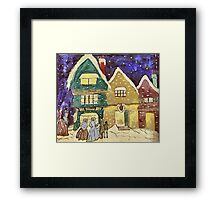 Christmas Visiters Framed Print