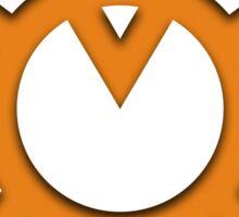 Orange Lantern Insignia Sticker