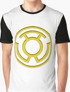 Yellow Lantern Insignia Graphic T-Shirt