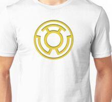 Yellow Lantern Insignia Unisex T-Shirt