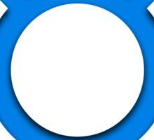 Blue Lantern Insignia Sticker