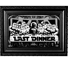 STAR WARS LAST DINNER Photographic Print