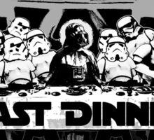 STAR WARS LAST DINNER Sticker