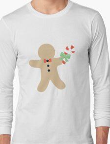Gingerbread man #1 Long Sleeve T-Shirt