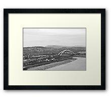 Newport SDR Bridge Framed Print