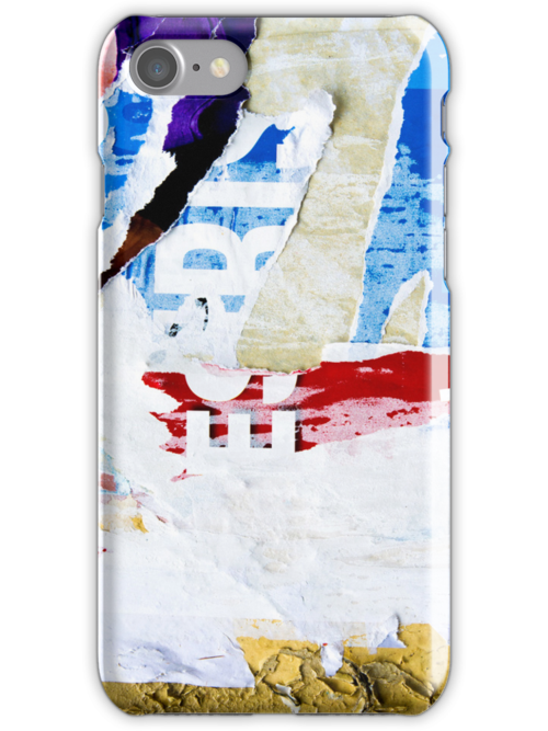 Old posters iPhone Case by ilolab