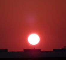 Heated Sunrise by skyhat